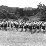1940s cadets on parade