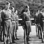 1948 Cadets on parade