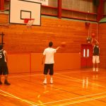 B – And still warming up basketball style (Small)