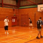B – Still warming up basketball style (Small)