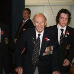 Col Doug Morrison with some of the Prefects (Small)