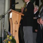 Prefect reading Roll of Honour 6